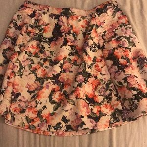 Lily Rose Floral Skirt